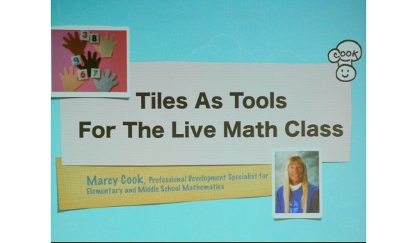 Virtual - Tiles As Tools For The Live Math Class