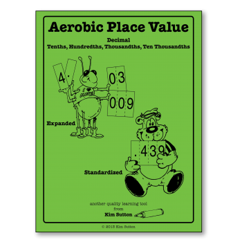 Aerobic Place Value Cards - Decimals