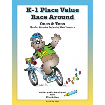 Place Value Race Around PDF - Ones, Tens