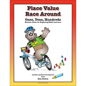 Place Value Race Around PDF - Ones, Tens, Hundreds