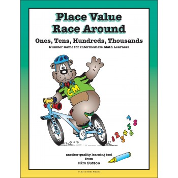 Place Value Race Around PDF - Ones, Tens, Hundreds, Thousands
