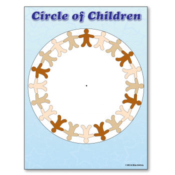 Circle of Children Graph Poster