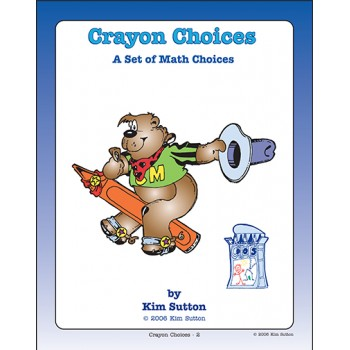 Crayon Choices - A Set of Math Choices PDF