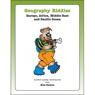 Geography Riddles---Europe, Asia, and Africa PDF