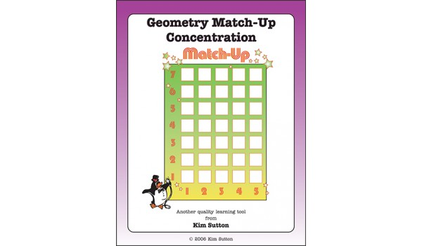 Geometry Match-Up Concentration PDF