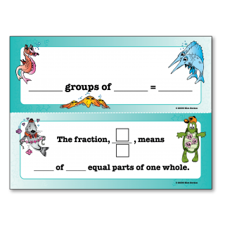 Groups Of Fraction Poster