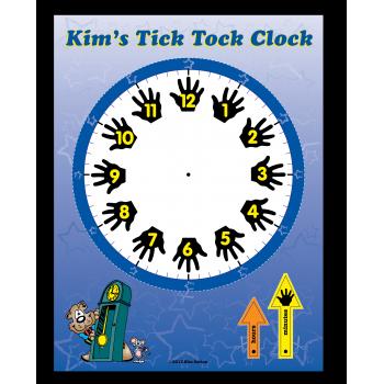Kim's Tick Tock Clock Poster
