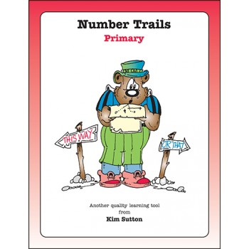 Number Trails Gameboards---Primary PDF