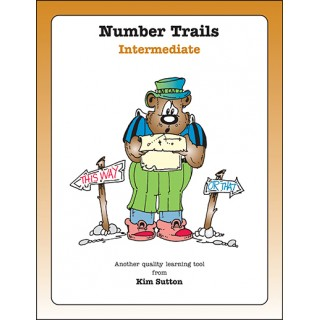 Number Trails Gameboards---Intermediate PDF