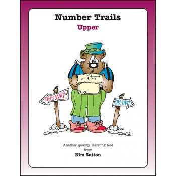 Number Trails Gameboards---Upper PDF