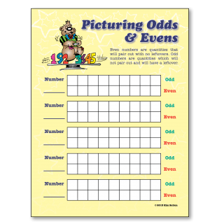 Picturing Odds and Evens Poster