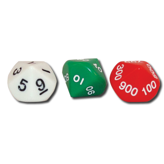 Place Value Dice<br>(0-999)