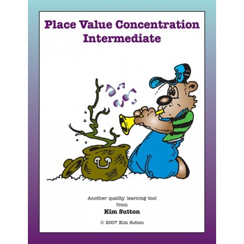Place Value Concentration — Intermediate 1's, 10's and 100's PDF