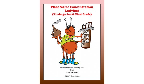 Place Value Concentration - Ladybug K-1 PDF