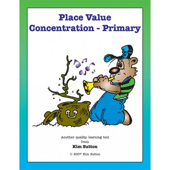 place value concentration cards
