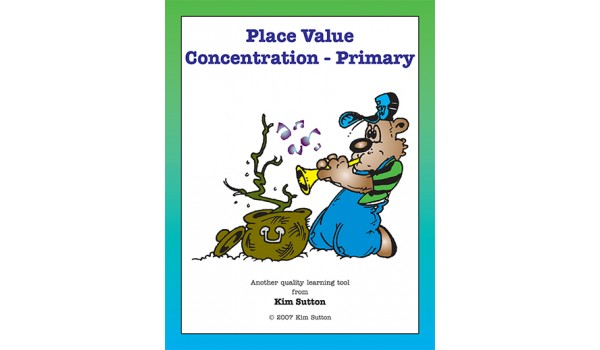 Place Value Concentration - Primary 1's and 10's PDF