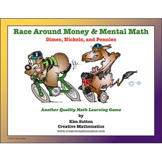 Race Around - Money and Mental Math - Dimes, Nickels and Pennies PDF