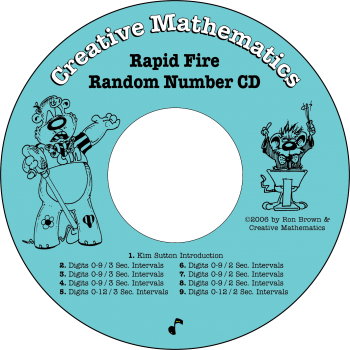 Rapid Fire Random Number CD