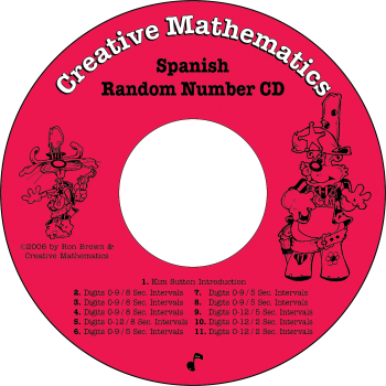 Spanish Random Number CD