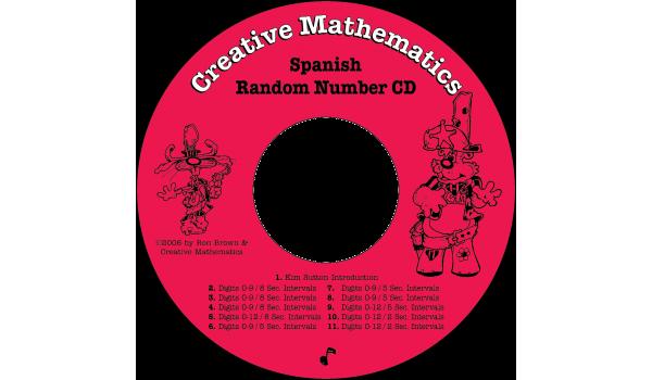 Spanish Random Number CD