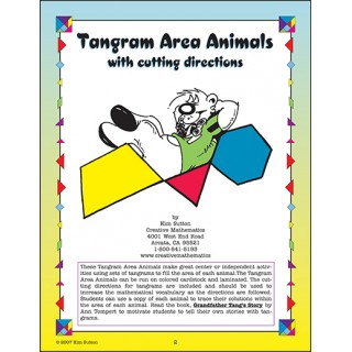 Tangram Area Animals PDF