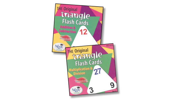 Triangle Flash Cards Sets (Multiplication & Division)
