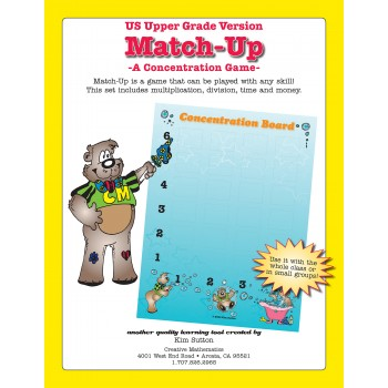 Match-Up Concentration PDF - Upper