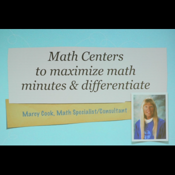 Virtual - Math Centers to Maximize Minutes & Differentiate