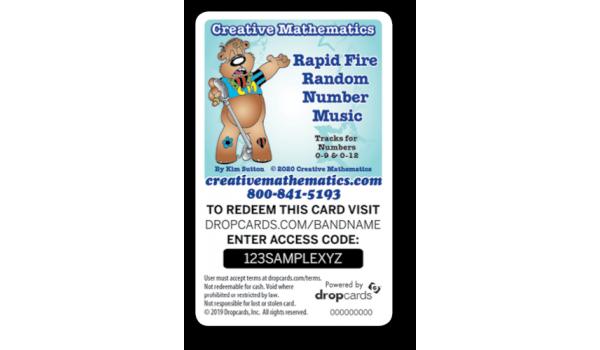 Rapid Fire Random Number Music